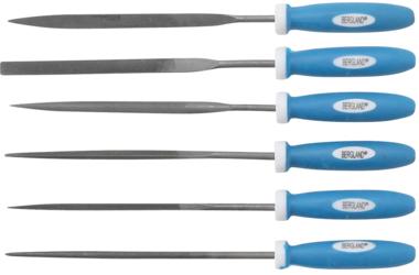 Juego de limas de aguja 140 mm 6 piezas