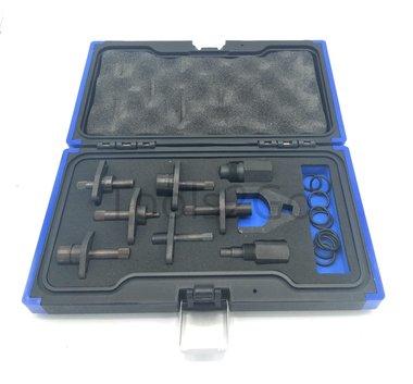 Juego de adaptadores para el comprobador de rieles comunes 9 pcs