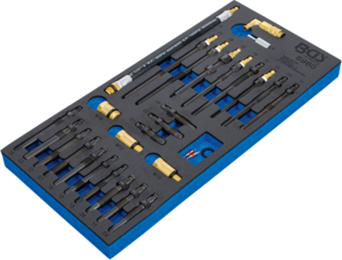 Juego de adaptadores para los comprobadores de compresion y perdida de presion 30 piezas