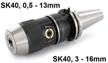 Portabrocas de sujecion rapida SK40 DIN69871