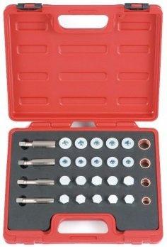 Kit de reparacion de drenaje de aceite de 64 piezas