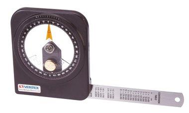 Goniometro sumergido en aceite - plastico - 0.1°