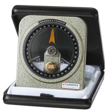 Goniometro sumergido en aceite - metal - 0,083°