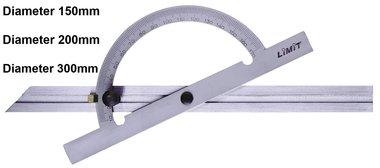 Arco de grados / calibre de grados 10 - 170°