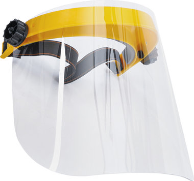 Ecran de protection faciale transparent