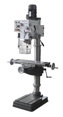 Mesa transversal de la fresadora de columna y alimentadores de taladro de 32 mm de diametro