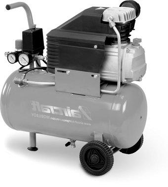 Compresor movil de 8 bar, 24 litros