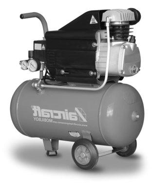 Compresor movil 8 bar 25l 113l/min