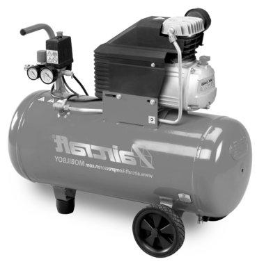 Compresor movil de 8 bar, 50 litros