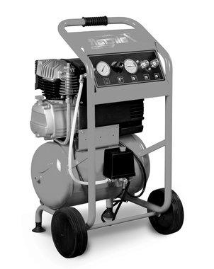 Compresor de construccion movil con 10 bar, 20 litros