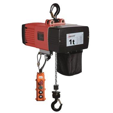 Polipasto electrico de cadena DEH 1 tonelada