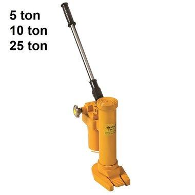 Elevador hidraulico de la maquina