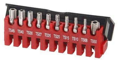 Juego de bits Resistorx TS de 5 lados de 10 partes