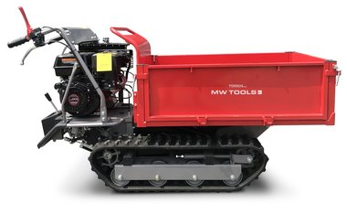 Mini dumper de oruga 500kg rectangular 6F+2R