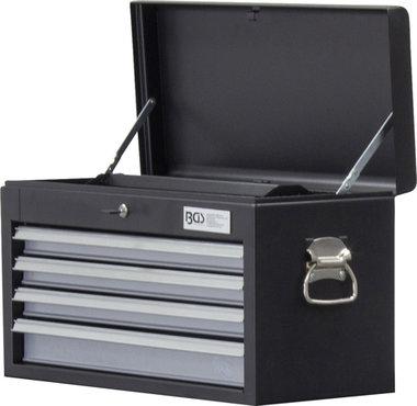 Caja de herramientas para carro de taller 4 cajones vacio