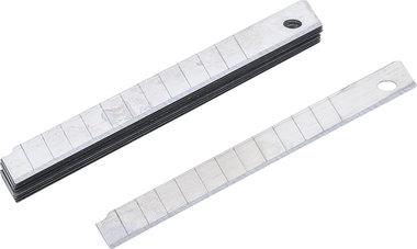 Juego de cuchillas de recambio 9 mm 10 piezas