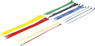 Bridas diferentes colores 4,8 x 300 mm 50 piezas