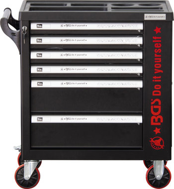 Carro de herramientas 6 cajones 1 compartimento vacio