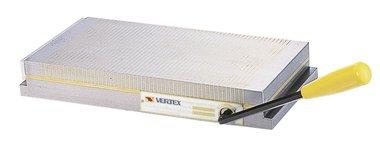 Placa de sujecion magnetica con divisiones de pila media-fina 450mmL
