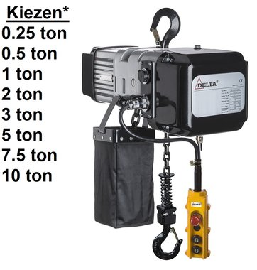Polipasto electrico de cadena SG.DTS