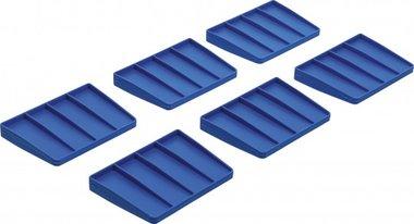 Separadores para maletín de herramientas de plastico reforzado 6 unidades