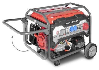 Generador de gasolina 6,5kw 3x400v de arranque electrico