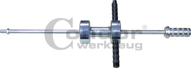 Martillo deslizante, 8,5 kg de peso, M18x1,5, 930 mm