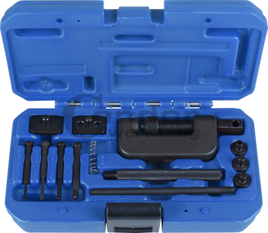 Herramienta extractora de eslabones y remachadora para cadenas de motos