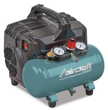 Compresor de bajo ruido 8 bar 6l 54l/min