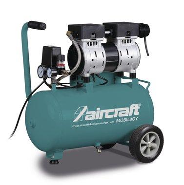 Compresor movil de bajo ruido 8 bar 24l 60l/min