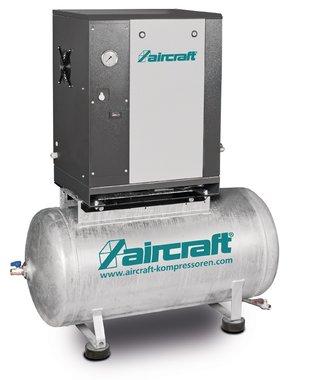 Compresor de tornillo 4kw 10bar 200 litros 485l/min