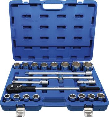 Juego de llaves de vaso entrada 20 mm (3/4) 21 piezas