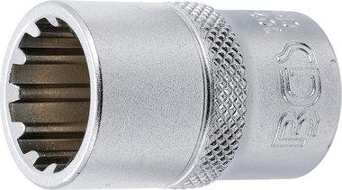 Llave de vaso Gear Lock entrada 12,5 mm (1/2) 16 mm