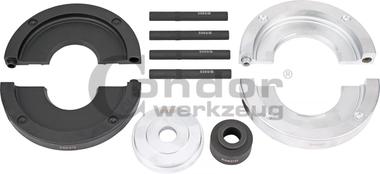 Kit de accesorios para rodamientos de rueda de 82 mm de diametro, Ford / Land Rover / Volvo