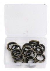 Surtido de anillos de enchufe del carter de goma 12mm 20 piezas