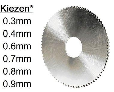 Fresas de sierra HSS de 63 mm de diametro y 16 mm de diametro interior