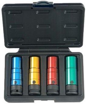Juego de pinzas de torsión 17-19-21-22mm