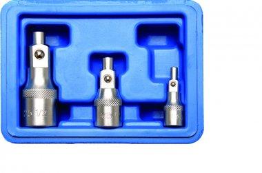 Juego de extensiones con soporte magnetico 6,3 mm (1/4) / 10 mm (3/8) / 12,5 mm (1/2) 3 piezas