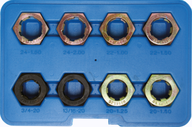 Juego de reparacion de roscas para ejes de transmision 8 piezas