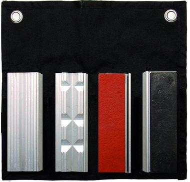 Juego de protector de mandibula de banco de 8 piezas, 100 mm