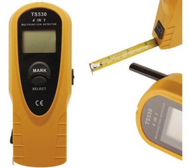 4 in1 Digitale detector, hout-metaal-voltage