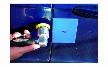 Protección de cuerpo-borde de 2 piezas, magnéticamente