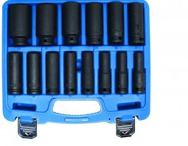 Juego de zocalos de impacto de 14 piezas 1/2, 10-32 mm
