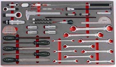 Módulo 52 herramientas de reparación de espuma