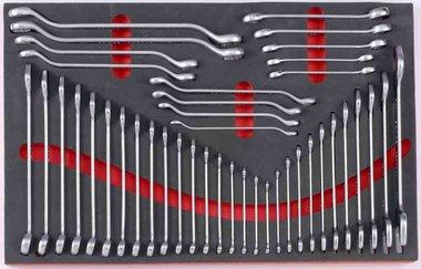 Módulo de espuma de 42 teclas y Tenedor tuyauter clave