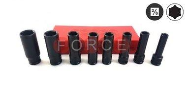 3/8 Conjunto de tapa de fuerza larga 8 piezas