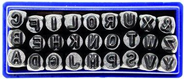Juego punzones de letras 3 mm to 10 mm