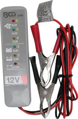 Comprobador de baterias y del sistema de carga