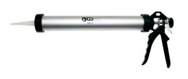 Pistola de silicona de aluminio para cartuchos de 380 mm