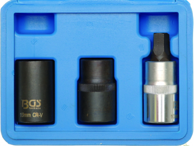 Llaves de vaso especiales para pinzas de freno 12,5 mm (1/2) 3 piezas